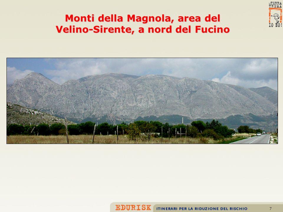 Monti della Magnola, area del Velino-Sirente, a nord del Fucino