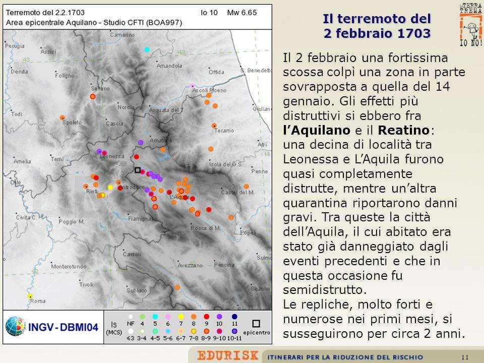 Il terremoto del 2 febbraio 1703