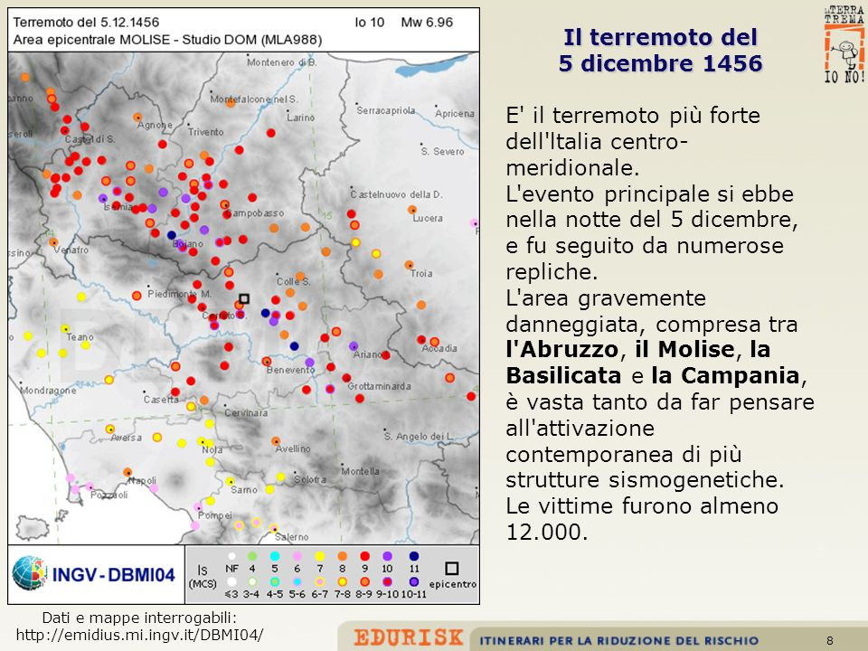 Dati e mappe interrogabili: