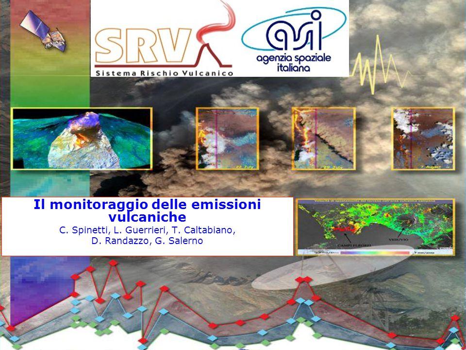 Il monitoraggio delle emissioni vulcaniche