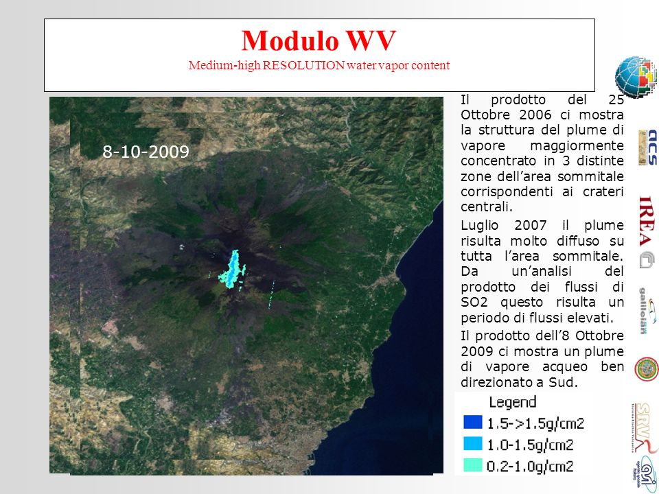 Modulo WV Medium-high RESOLUTION water vapor content