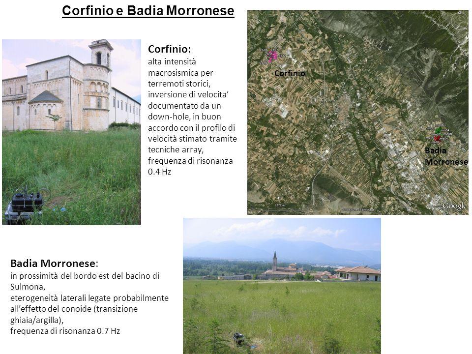 Corfinio e Badia Morronese
