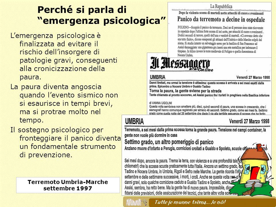 Terremoto Umbria-Marche settembre 1997