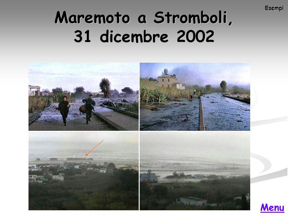 Maremoto a Stromboli, 31 dicembre 2002