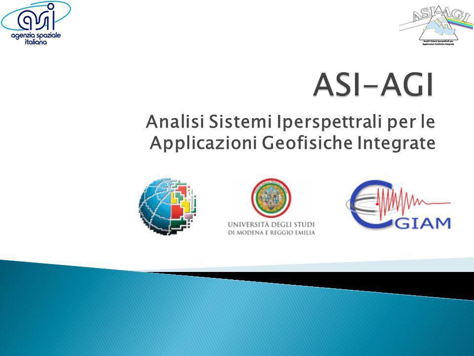 Analisi Sistemi Iperspettrali per le Applicazioni Geofisiche Integrate