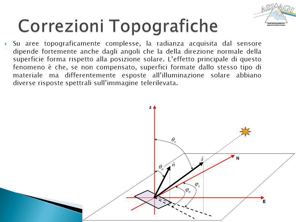 Correzioni Topografiche