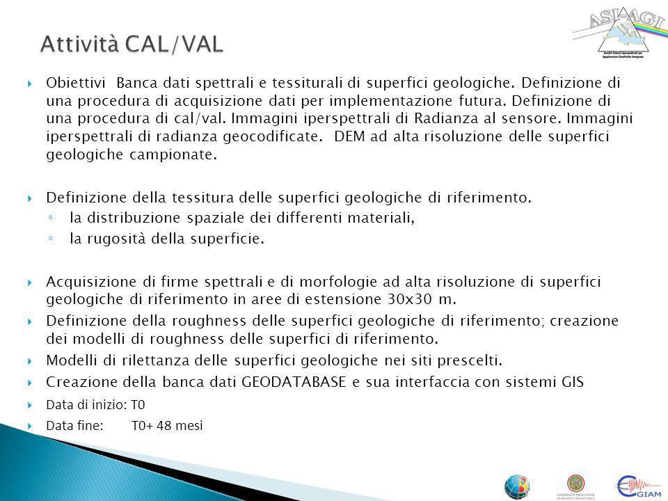 Attività CAL/VAL