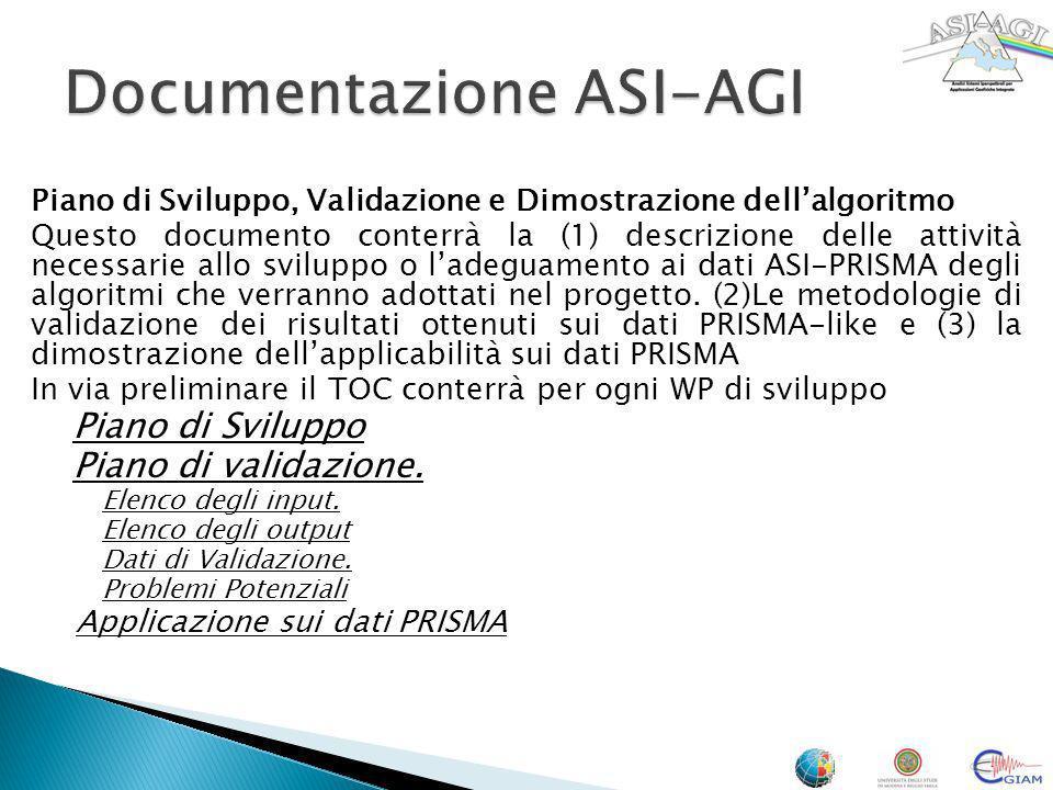 Documentazione ASI-AGI