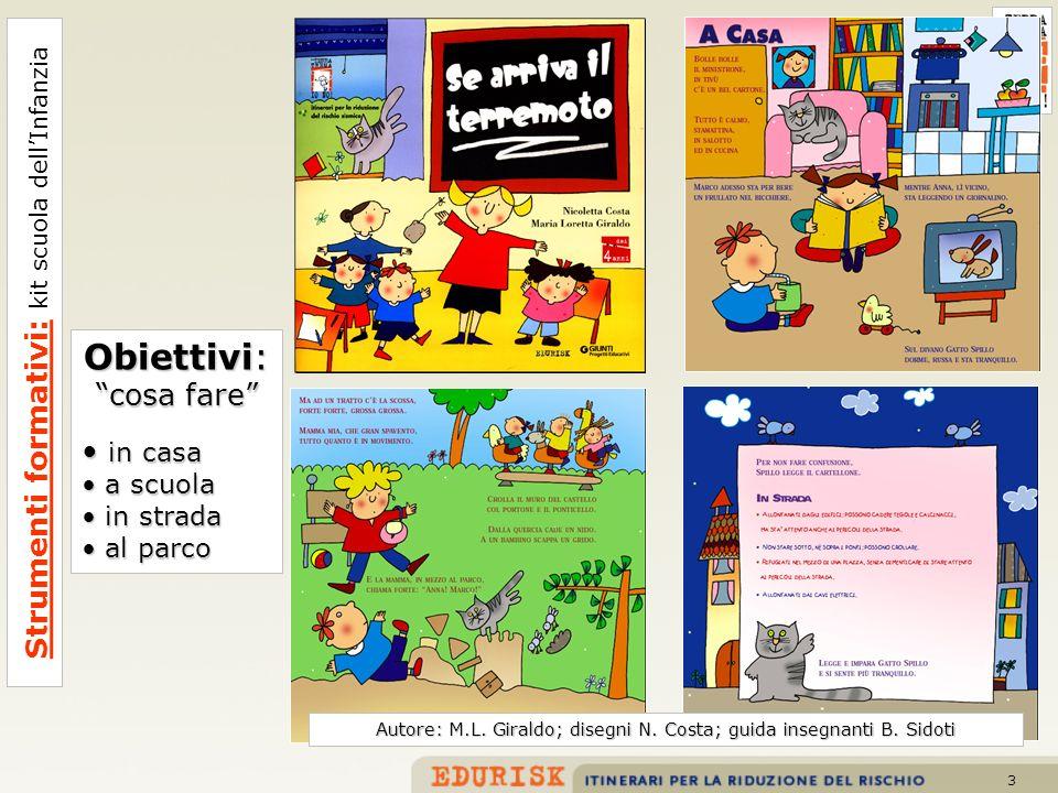 Obiettivi: Strumenti formativi: kit scuola dell'Infanzia cosa fare