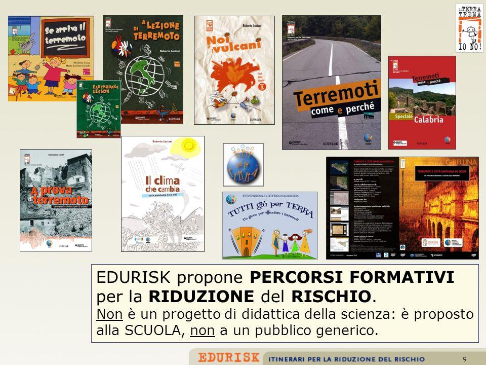 EDURISK propone PERCORSI FORMATIVI per la RIDUZIONE del RISCHIO.