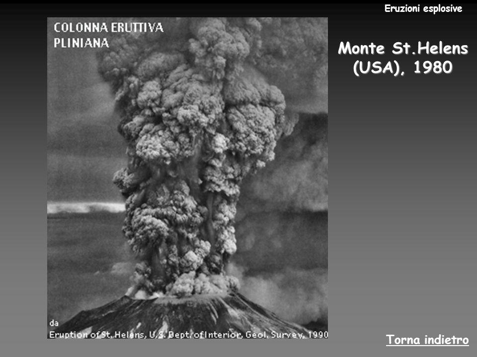 Eruzioni esplosive Monte St.Helens (USA), 1980 Torna indietro