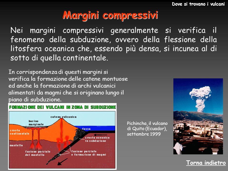 27/03/2017 Dove si trovano i vulcani. Margini compressivi.