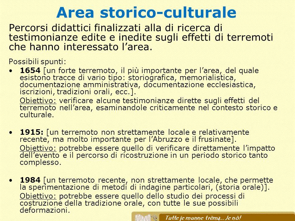 Area storico-culturale