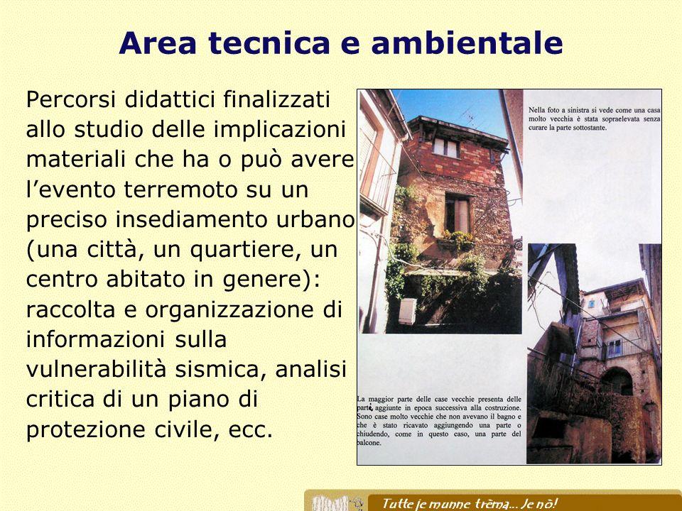 Area tecnica e ambientale