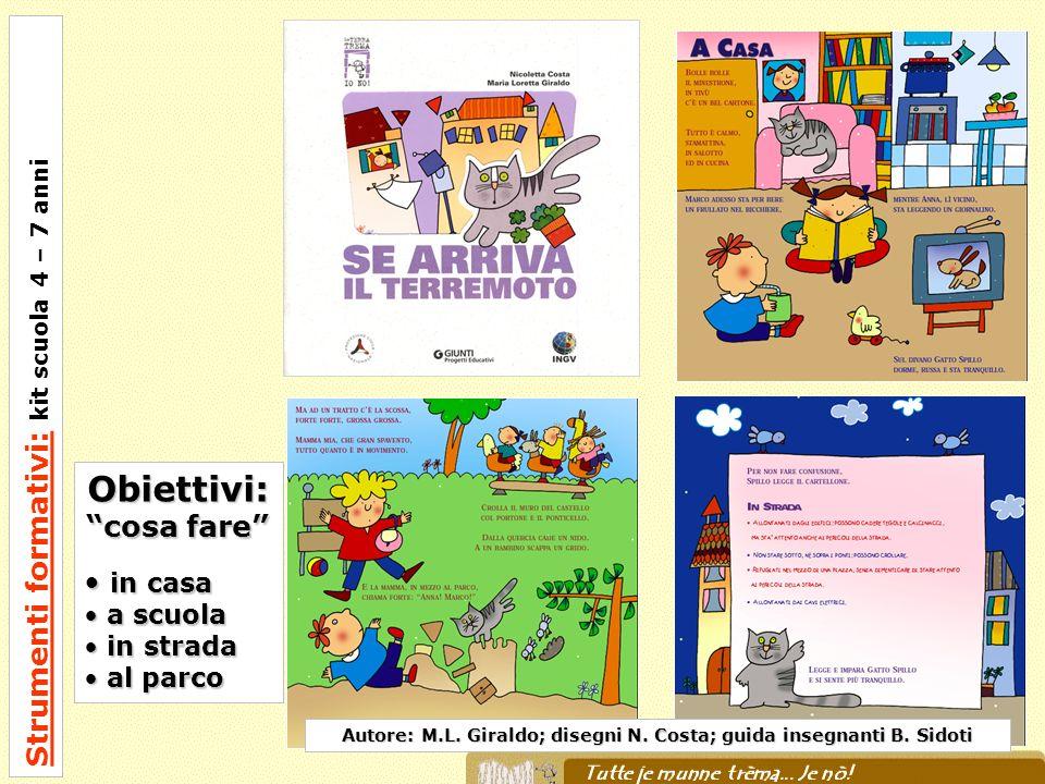 Autore: M.L. Giraldo; disegni N. Costa; guida insegnanti B. Sidoti