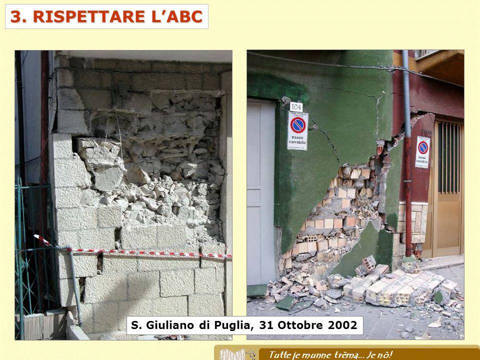 3. RISPETTARE L'ABC S. Giuliano di Puglia, 31 Ottobre 2002