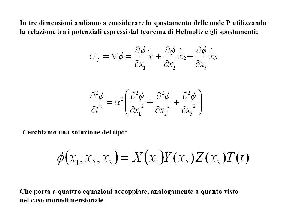 Che porta a quattro equazioni accoppiate, analogamente a quanto visto