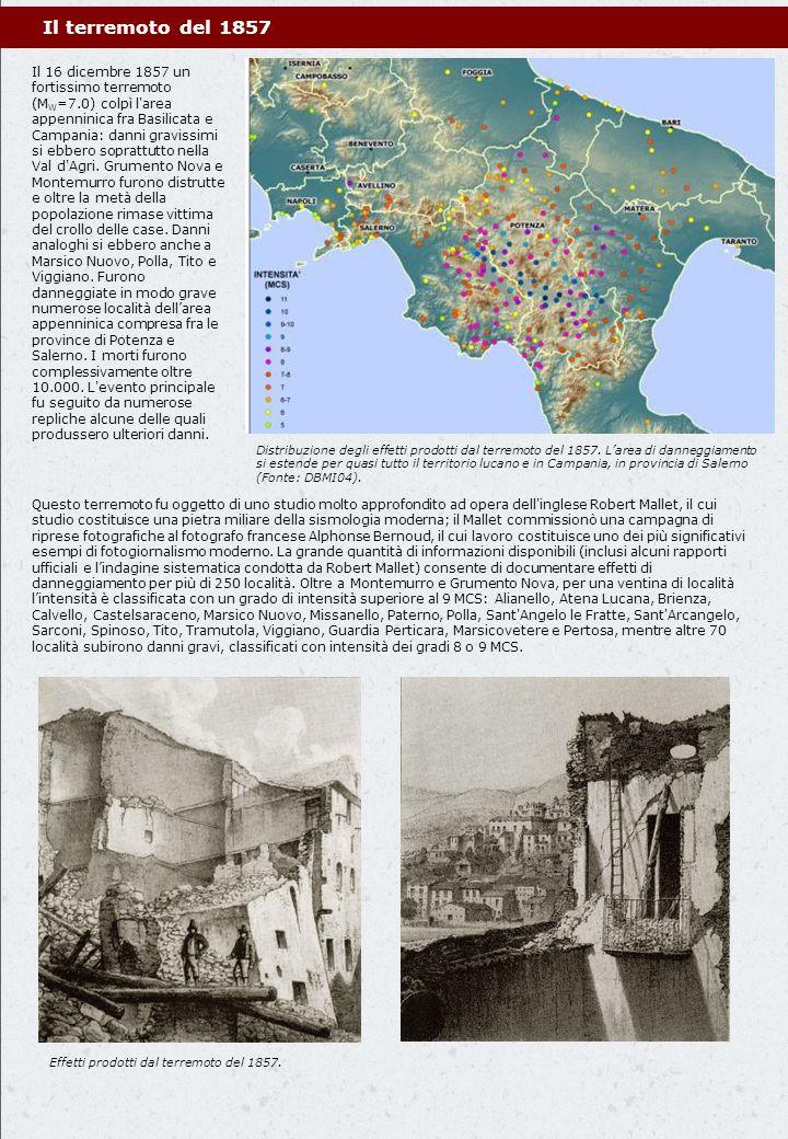 Il terremoto del 1857