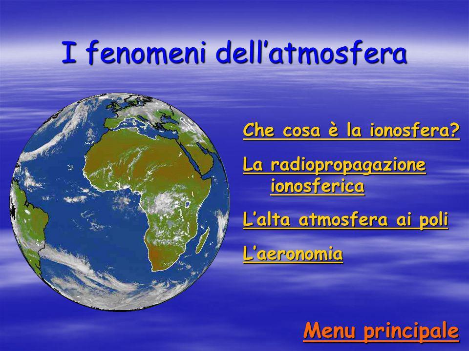 I fenomeni dell'atmosfera