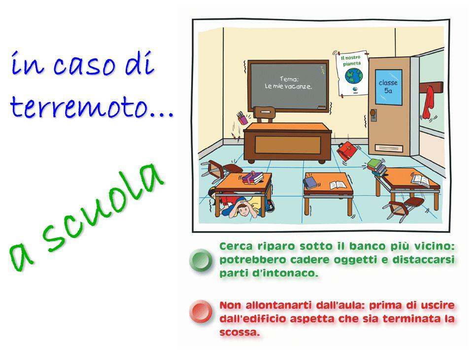 in caso di terremoto… a scuola