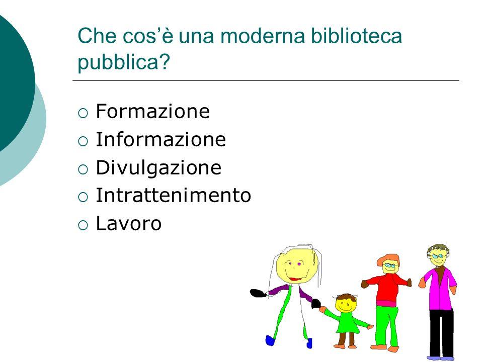 Che cos'è una moderna biblioteca pubblica