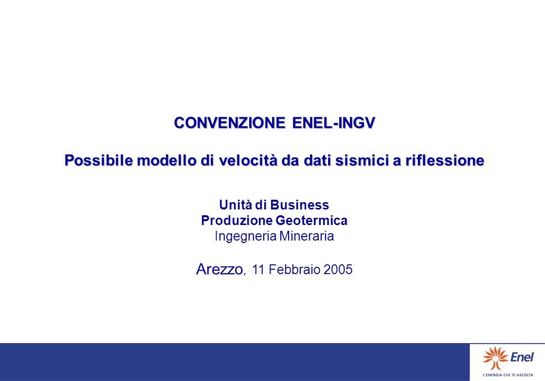 CONVENZIONE ENEL-INGV