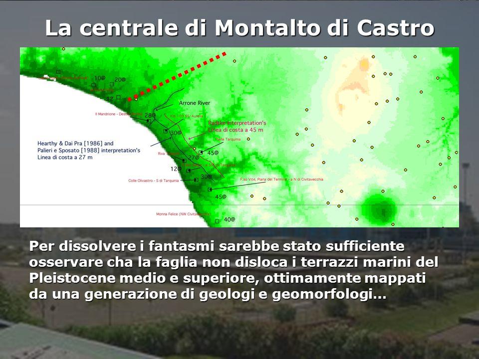 La centrale di Montalto di Castro