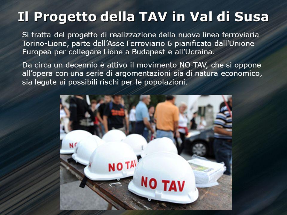 Il Progetto della TAV in Val di Susa