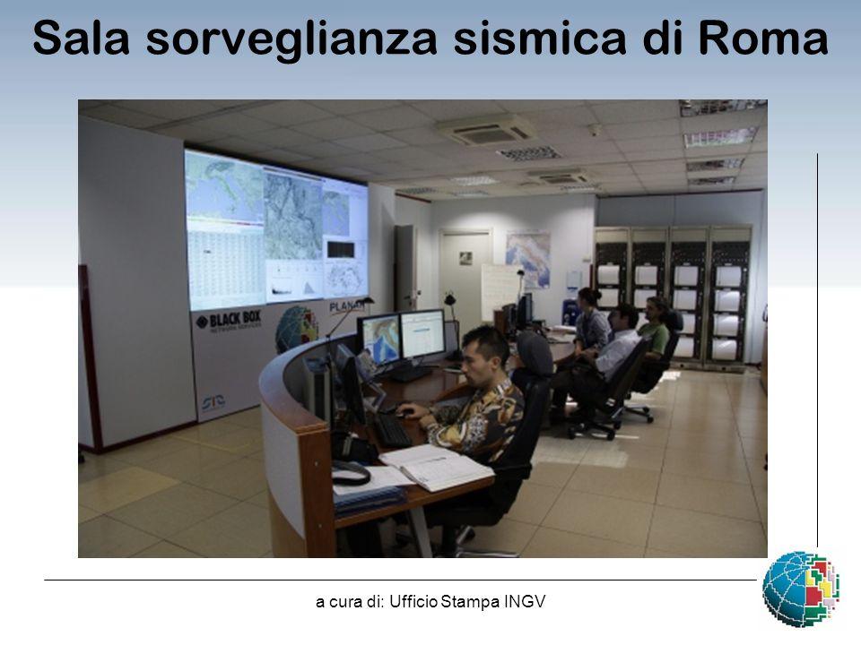 Sala sorveglianza sismica di Roma