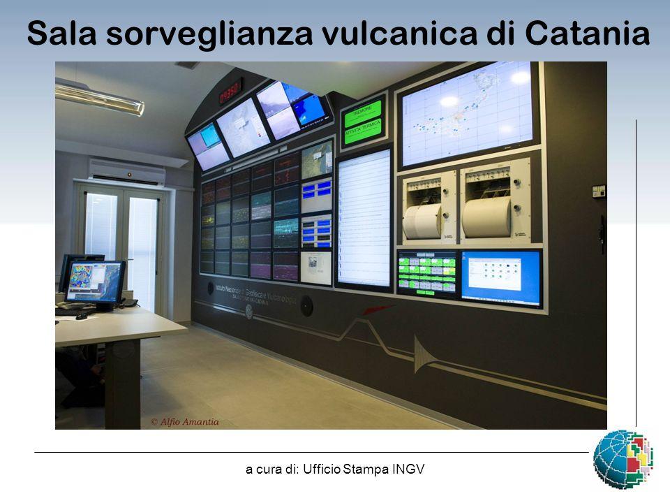 Sala sorveglianza vulcanica di Catania