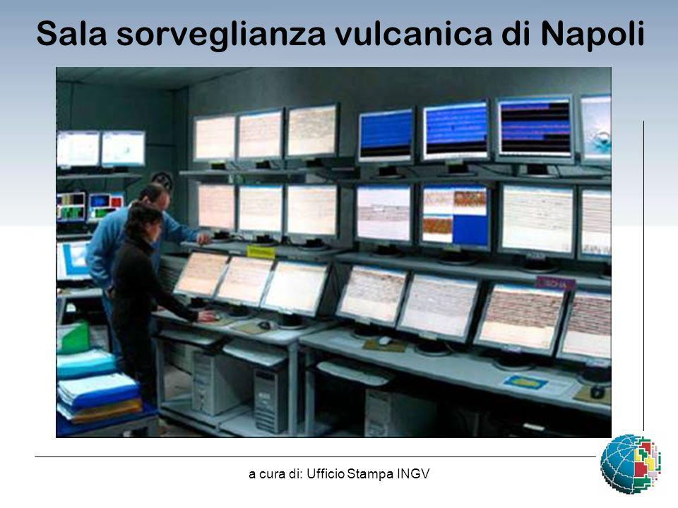 Sala sorveglianza vulcanica di Napoli