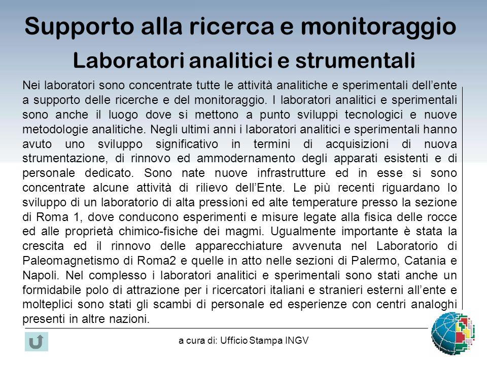 Laboratori analitici e strumentali