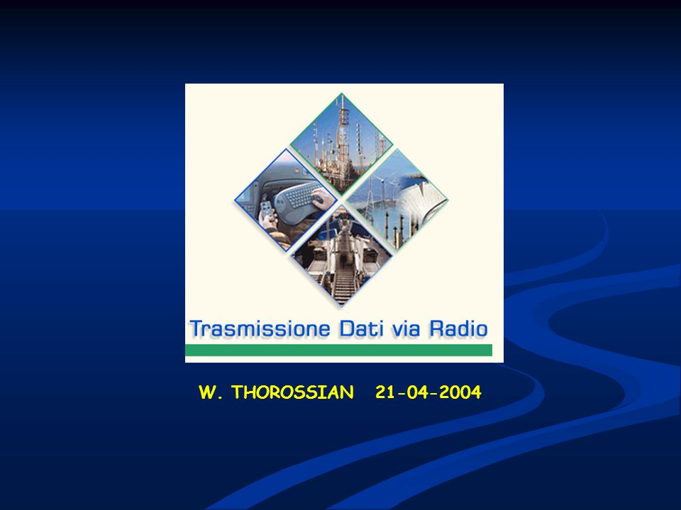 W. THOROSSIAN 21-04-2004 W. THOROSSIAN 21-04-2004