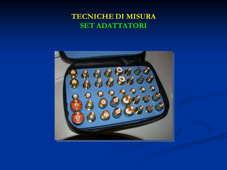 TECNICHE DI MISURA SET ADATTATORI