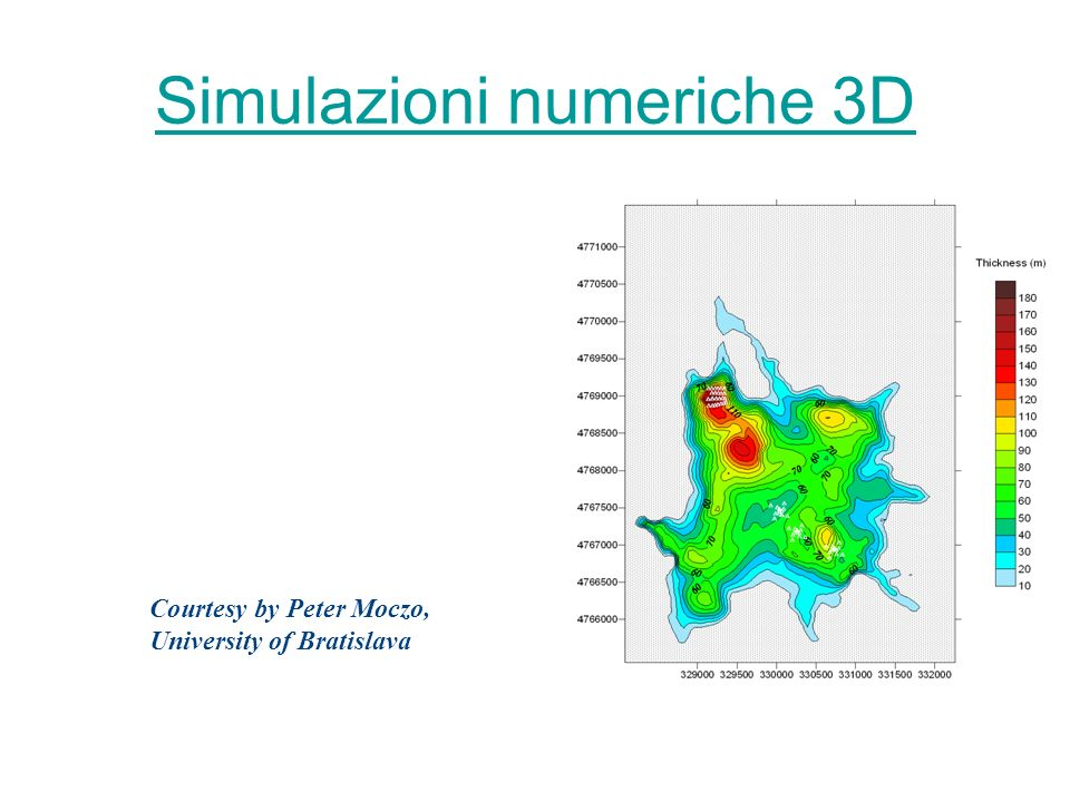 Simulazioni numeriche 3D
