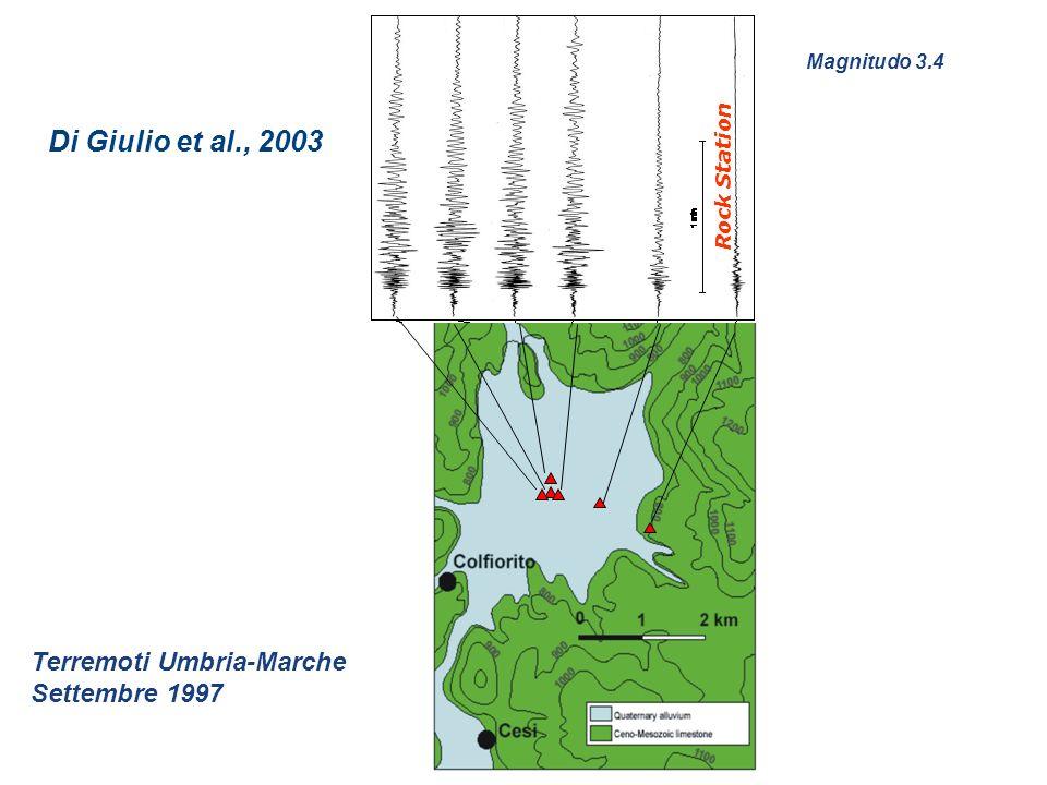 Di Giulio et al., 2003 Terremoti Umbria-Marche Settembre 1997