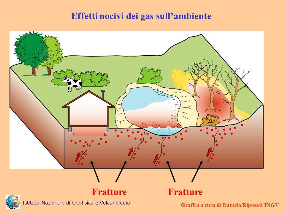 Effetti nocivi dei gas sull'ambiente