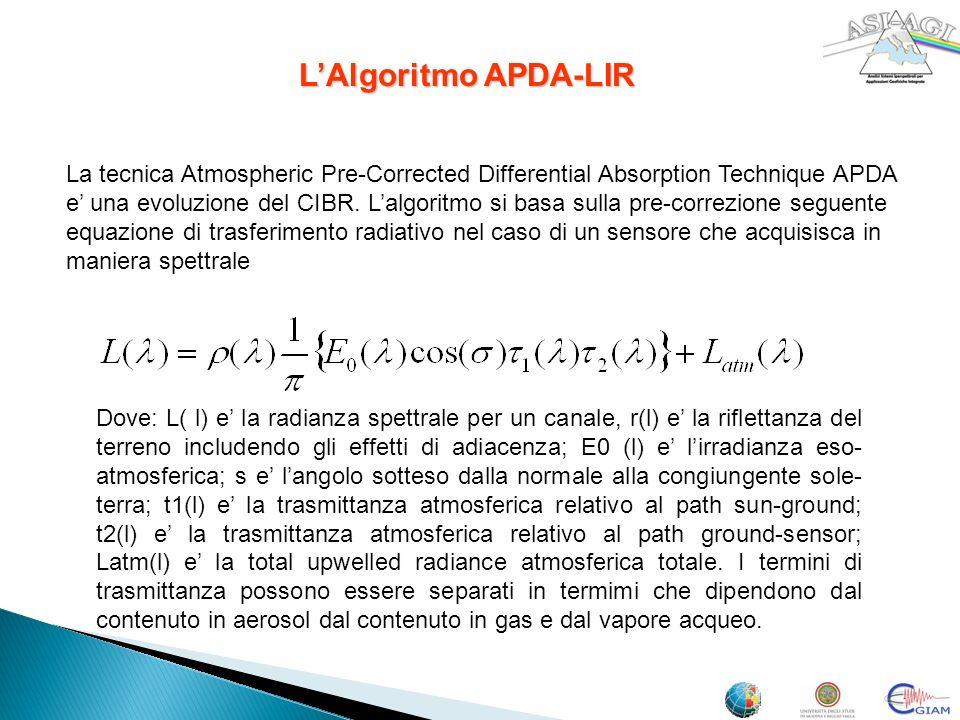 L'Algoritmo APDA-LIR