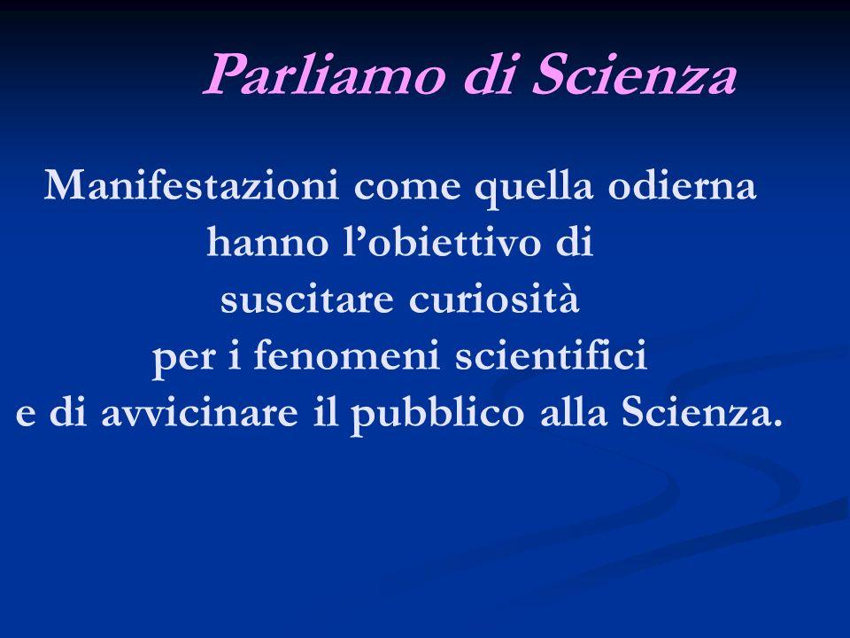 Parliamo di Scienza