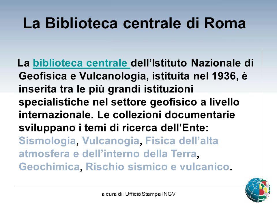 La Biblioteca centrale di Roma