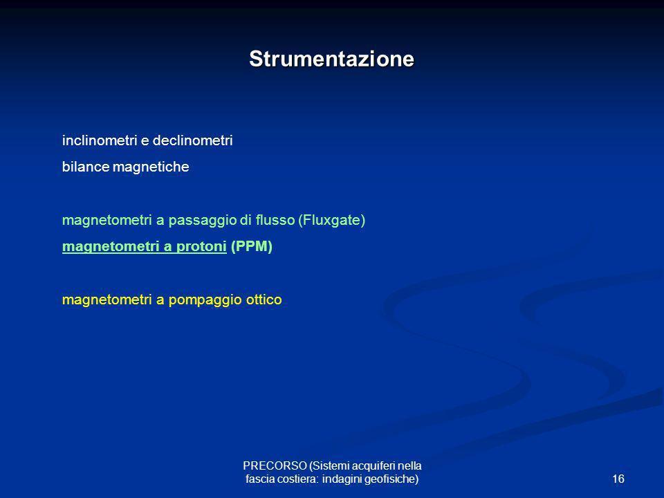 Strumentazione inclinometri e declinometri bilance magnetiche