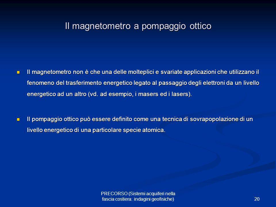 Il magnetometro a pompaggio ottico