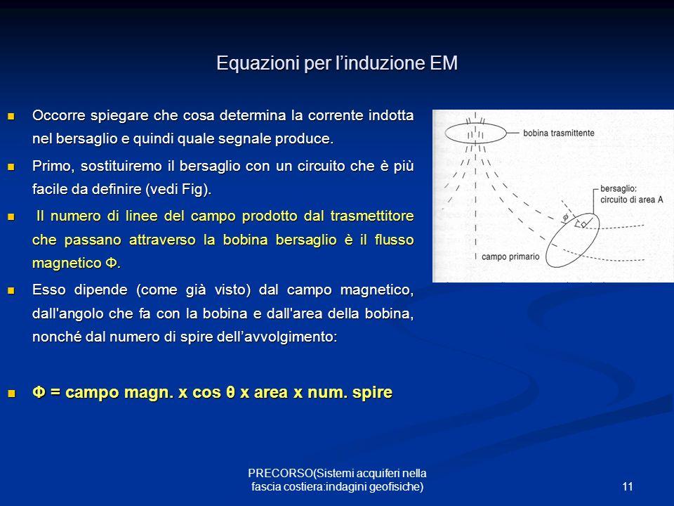 Equazioni per l'induzione EM