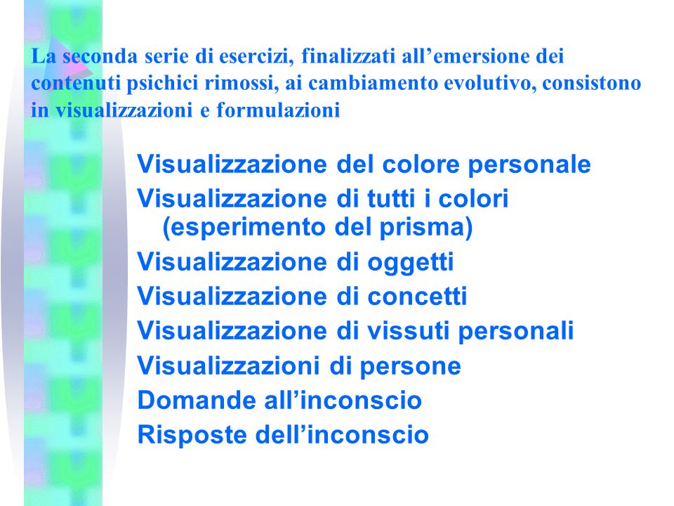 Visualizzazione del colore personale