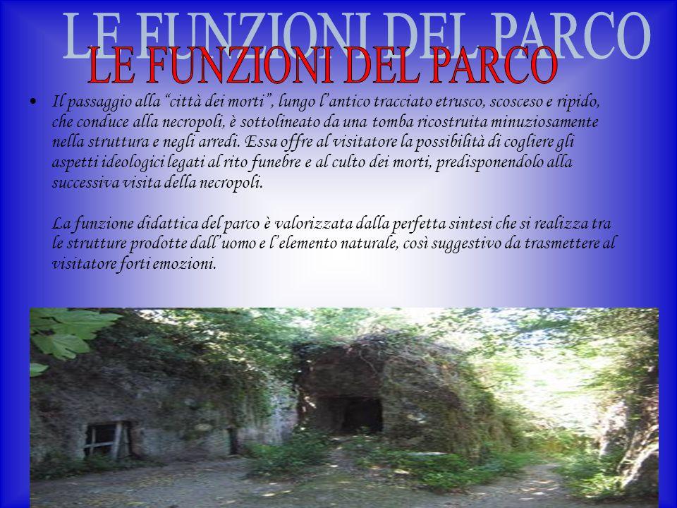 LE FUNZIONI DEL PARCO
