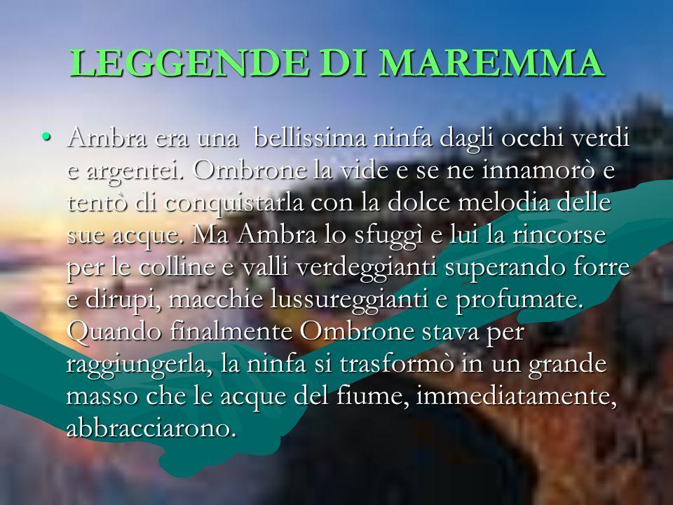 LEGGENDE DI MAREMMA