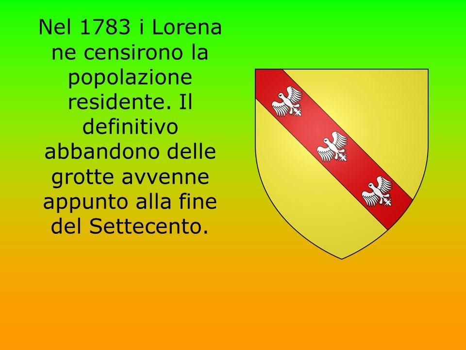 Nel 1783 i Lorena ne censirono la popolazione residente
