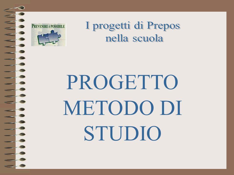 PROGETTO METODO DI STUDIO