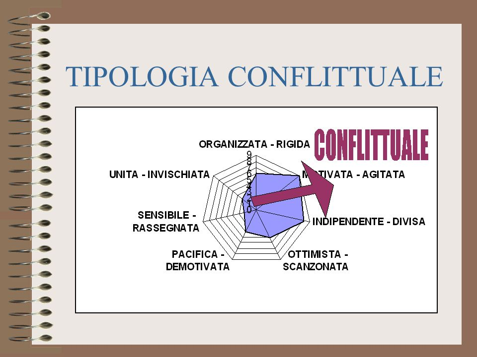 TIPOLOGIA CONFLITTUALE
