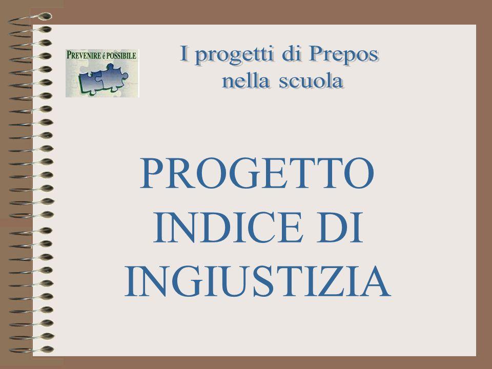 PROGETTO INDICE DI INGIUSTIZIA